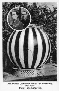 Kartka wydana z okazji próby startu w Dolinie Chochołowskiej w 1938 roku
