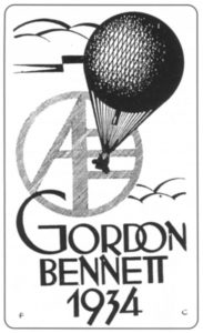 Znak zawodów Gordon Bennett 1934