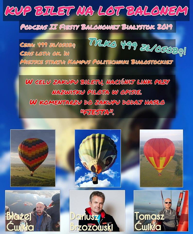 Loty balonem